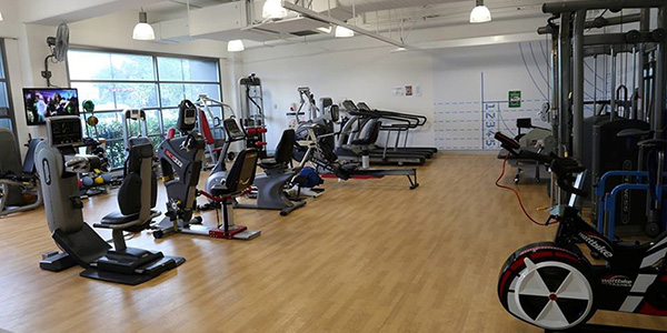Accessible gym at Allambie Heights