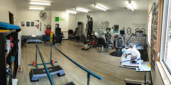 Accessible gym at Ryde