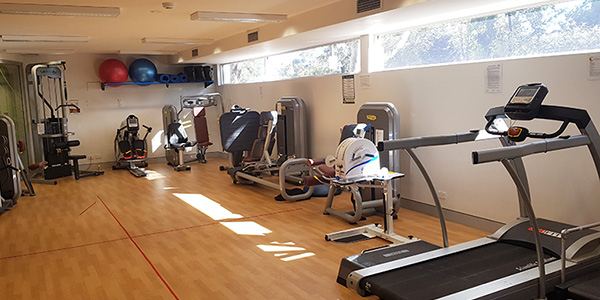 Accessible gym at Canberra
