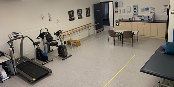 Accessible gym at Kingswood