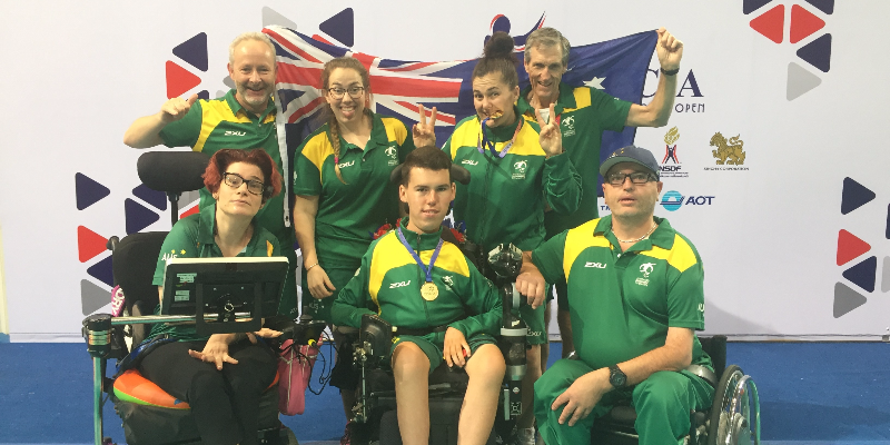 Boccia athletes have a huge medal-winning year