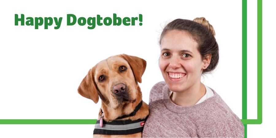Happy Dogtober! Celebrating our four-legged friends with Paralympian Amanda Reid