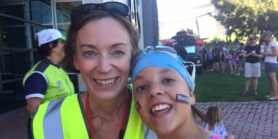 Triathlon squad increases Katie's fitness and confidence
