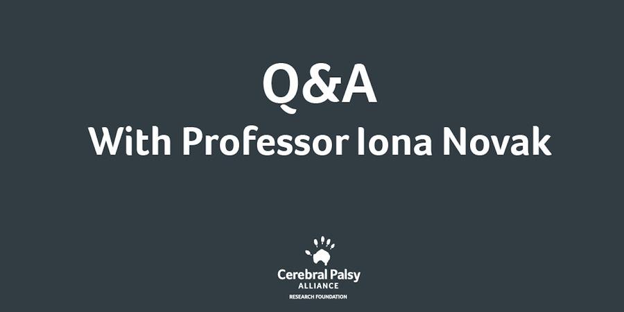 More Q&A With Professor Iona Novak