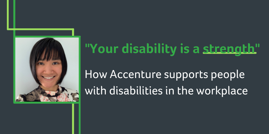 How Accenture supports people  with disabilities in the workplace