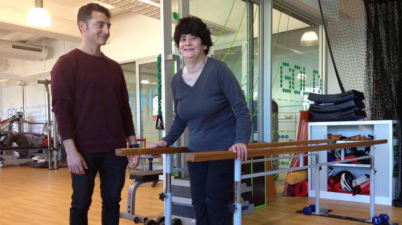Balance exercises keep Cathryn upright