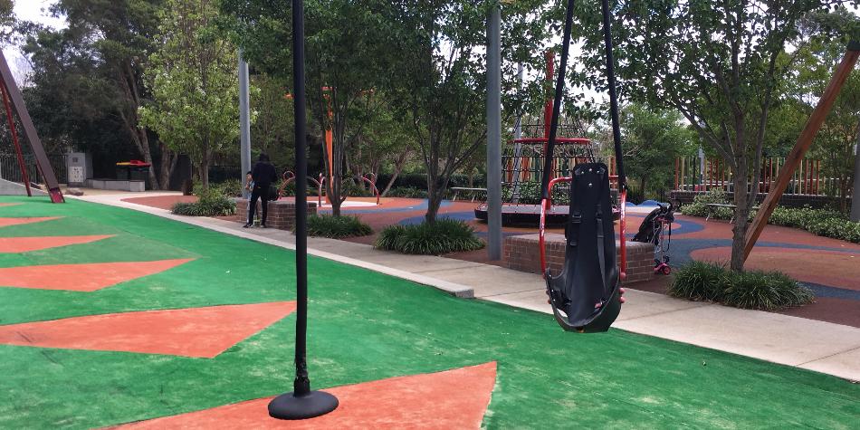 Children find joy in inclusive playspaces
