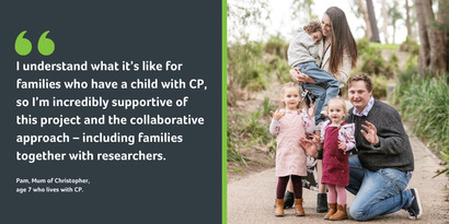 Breaking the cycle of disadvantage and disability so all kids with CP can thrive