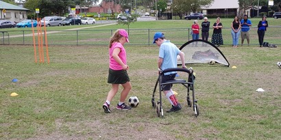 Get active with a mobility aids sports camp for kids and teens