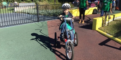 Push & Pedal (Intermediate Bike Skills Program)