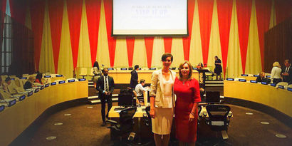 A success! Cerebral Palsy Alliance Research Foundation represented superbly at the United Nations